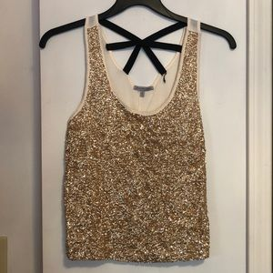 Sparkley gold blouse